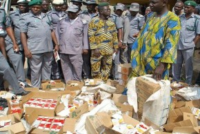 Image result for Nigerian Customs uncovers Substance alleged to be hard drugs