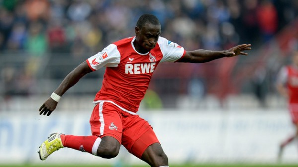 Anthony Ujah Scores His Tenth Goal of the German Bundesliga B Season in a 1-1 Draw at FC Ingolstadt 04.