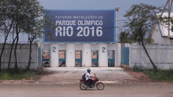 The Rio 2016 Olympic Village Under Construction.
