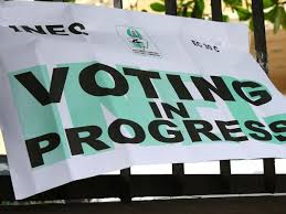Voting in progress