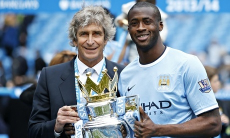 Yaya Toure and Boss