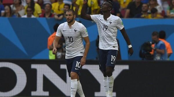 Paul Pogba Celebrates Goal Against Nigeria.