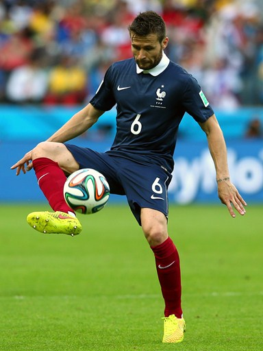 Yohan Cabaye Controls the Ball During France Opening Win Against Honduras at the 2014 World Cup. Image: Getty.