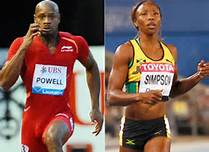 Asafa Powell and Sherone Simpson Have Doping Ban Cut.