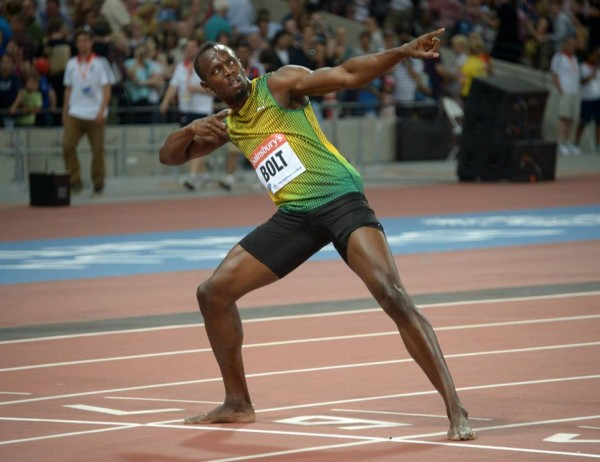 Usain Bolt Says He Has Always Showed Up When It Mattered.