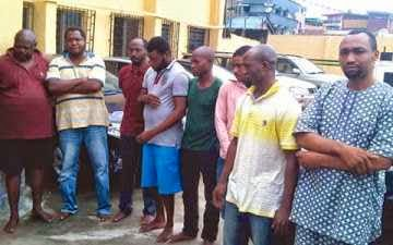 THE PARADED SUSPECTS