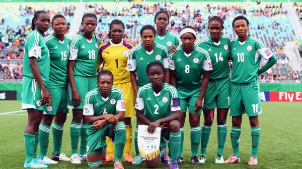 Nigeria Super Falconets Finished Top of Group C at the 2014 Fifa U-20 World Cup. Image: Getty Image.
