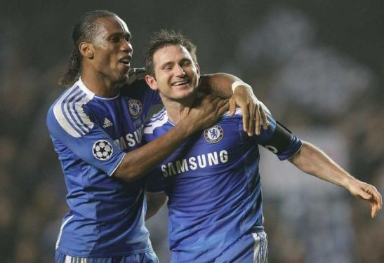 Didier Drogba and Frank Lampard, Who Linked Up With New York City FC This Season, Played Together at the Bridge for 8 Seasons.