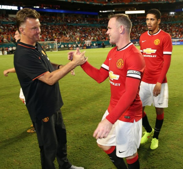 Wayne Rooney Says United Shoild Have Handled a Difficult Start Under Louis van Gaal Better. Image: Getty.