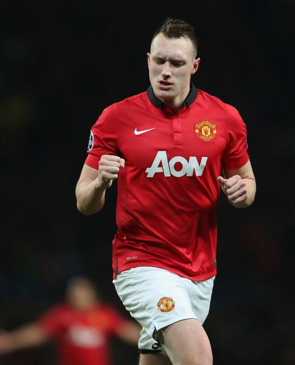 Phil Jones Set for Up to a Month on the Sidelines. Image: Getty via Man Utd.