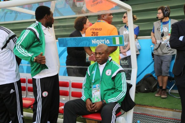 Keshi Disappointed By Eagles Lack of Precision Against Congo. Image: Getty.