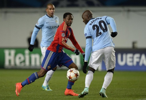 There Will Be No Visiting CSKA Moscow Fans in Manchester Next Week Wednesday. Image: Getty.