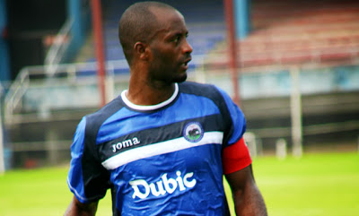 Captain Chinedu Udoji Was at the Heart of the Defence for Enyimba against Buffles.