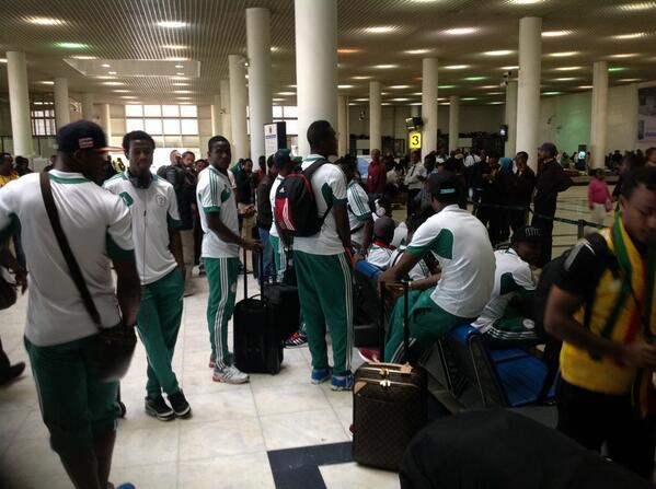 Super Eagles Set to Take Off for Sudan By 9:00pm on Thursday.