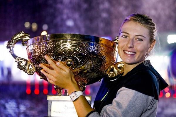 Maria Sharapova Wins WTA Career Title No. 33.