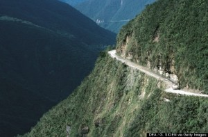 The North Yungas Road