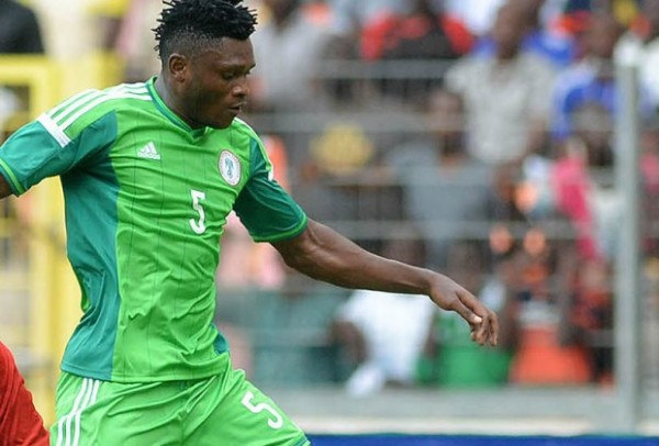 Aaron Samuel Has Scored Two Goals After Six Nigeria Caps. Image: AFP.
