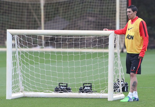 Angel Di Maria Fit for Arsenal, Says Van Gaal. Image: Getty via Man Utd.