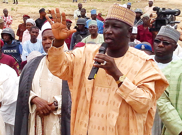 BORNO DEPUTY GOVERNOR, ALHAJI MUSTAPHA ZANNAH, APPEALING TO PEOPLE FROM ASHIGASHIYA COMMUNITY IN GWOZA LGA OF BORNO WHO RELOCATED TO CAMEROON TO RETURN HOME