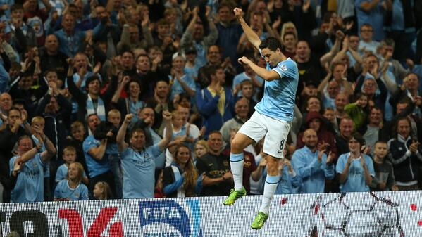 Manchester City Must Take Their Chances, Says Nasri. Image: Getty.