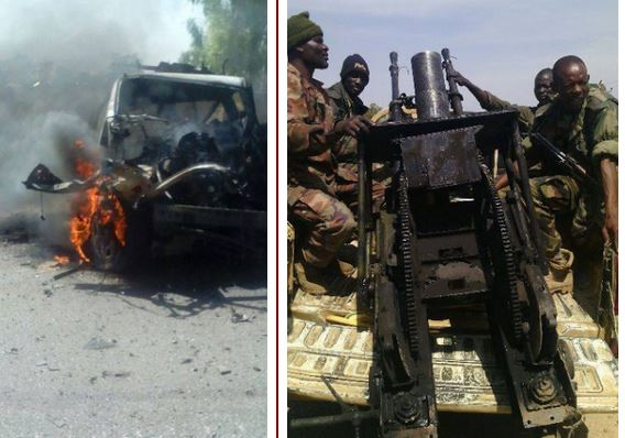 Pics From Military Operations In Gombi, Pelia, Hong in Adamawa