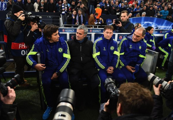 Everybody Wants a Piece of the 'Special One:' Any Team Would Have Struggled to Curtail Chelsea Last Night, According to Mourinho. Image: Getty.