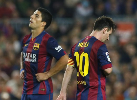 Suarez Happy to Be Back in Amsterdam. Image: Albert Gea/ Reuters.
