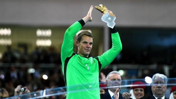 Manuel Neuer Has Never Won the Ballon d'Or Before and is in Line to Become the First Goalkeeper to Claim the Price. Image: Getty..