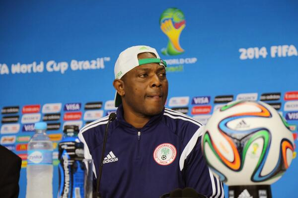 "Stephen Keshi Has Described The NFF New Offer as ""a  Slave Contract"". Image: Getty."