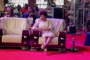 Afro-woman: See the afro on Pastor Ayo Oritsejafor's Wife