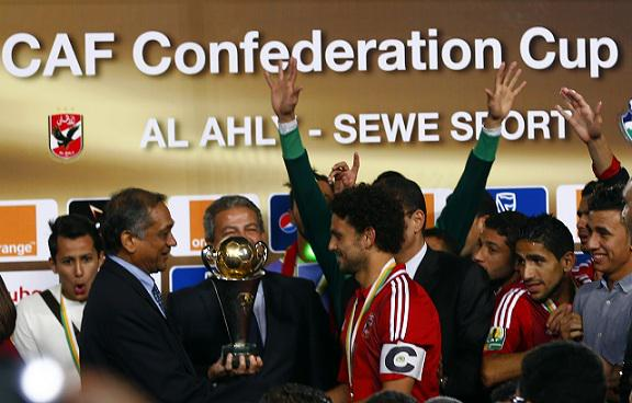 Al Ahly are the First Egyptian Club to Win the Caf Confederation Cup, Image: Caf Archive.