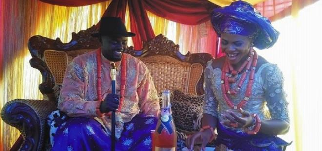 Blessing Okagbare and her estranged husband