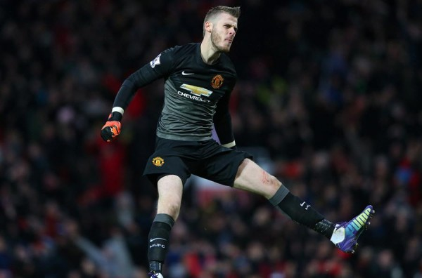 David De Gea Celebrates United Victory Over Liverpool. Image: AP.