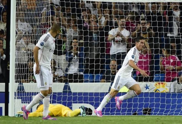 James Rodriguez vs Basel