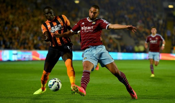 Mohammed Diame Will Be Sidelined for Two to Three Weeks With a Tendonitis Problem. Image: Getty.