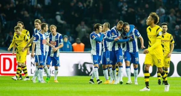 Pierre-Emerick Aubameyang Scored 16 Times as Dortmund Missed Out on European Slot Last Season. Image: Getty.