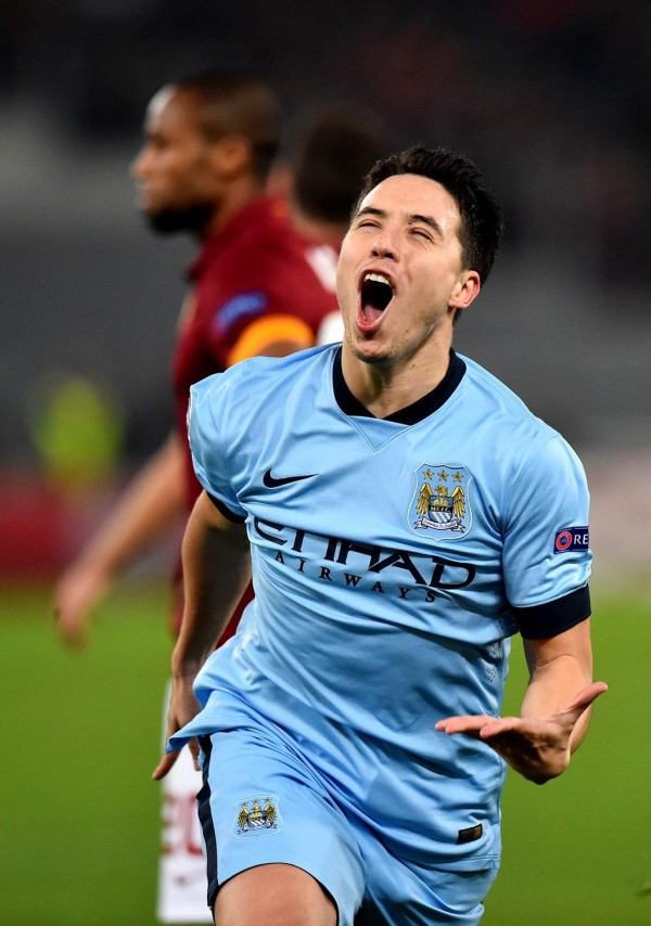 Samir Nasri Will Be Sidelined for Around Three Weeks. Image: AFP/Getty.