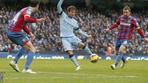 David Silva scored twice