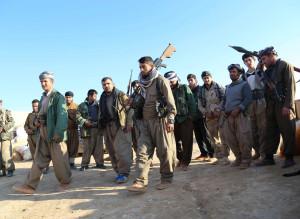 Peshmerga fights ISIL in Iraq's Diyala