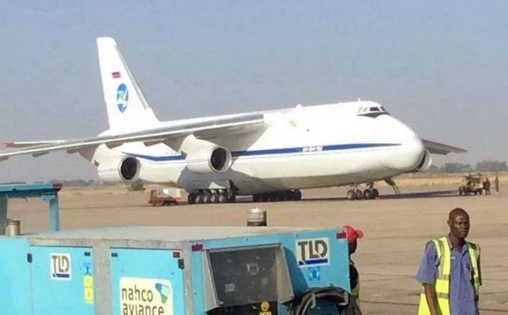 seized plane