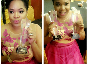 Toyin Aimakhu Wins 'Best Actress', 'Best Movie', Says She Owe It All To Support From Her Husband