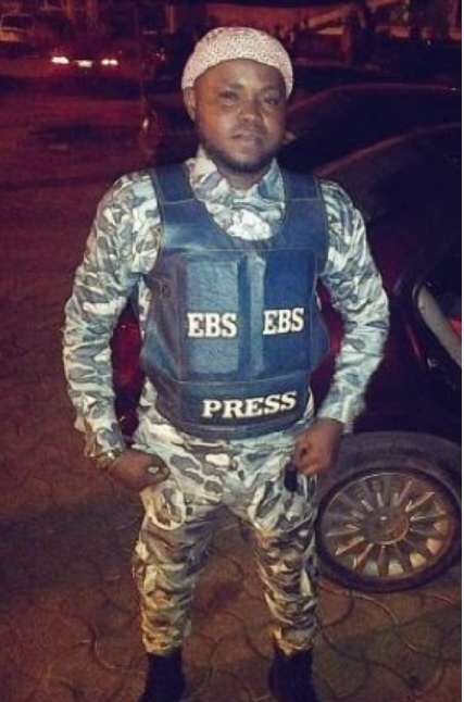 Photos: TV Presenter Dresses Like Militant To South South Music Awards In Benin
