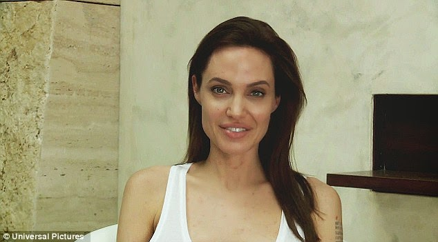 Angelina Jolie Infected With Chicken Pox