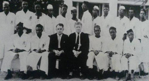 Buhari class photo credit: Premium Times