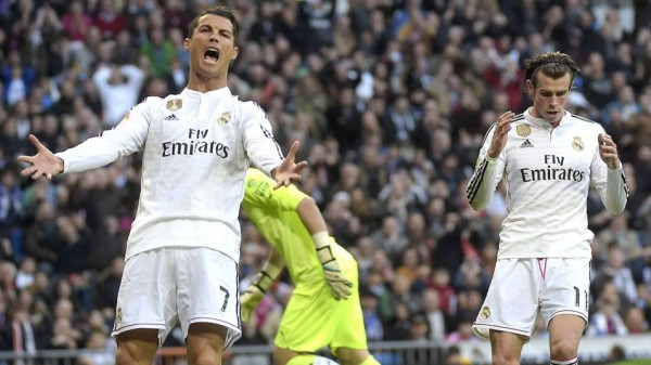 Cristiano Ronaldo Irked By Bale's Decision Not to Pass to Him Against Espanyol. Image: Getty.