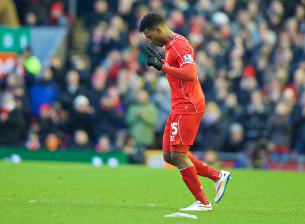 Daniel Sturridge Making a Substitute Appearance in Liverpool's 2-0 Win at West Ham on 31 January. Image: LFC via Getty.