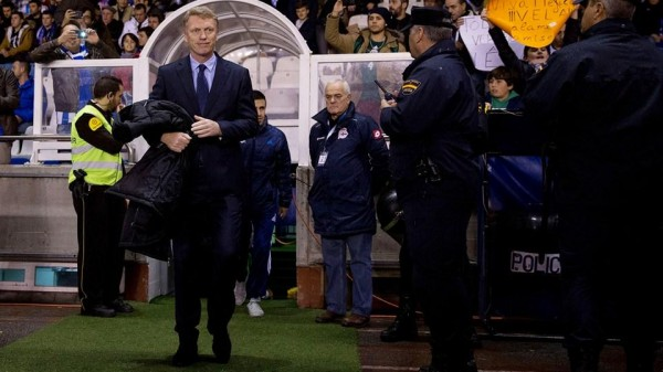 David Moyes Happy With Sociedad Win Over Barca. Image: Getty.