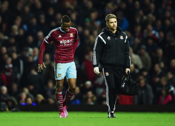 Diafra Sakho Pulled Out of Afcon 2015 Due to a Back Injury But Went on to Feature for West Ham in an FA Cup Match. Image: Getty.