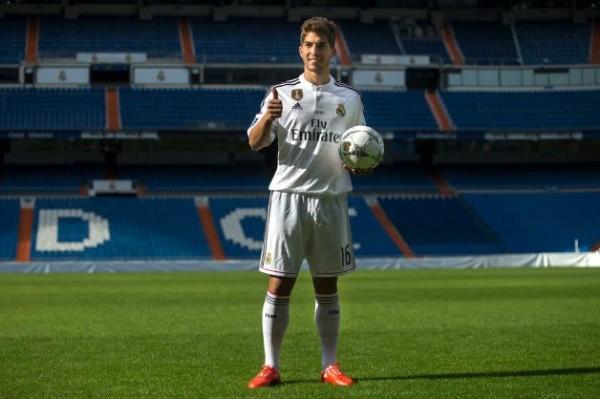 Real Madrid Sign Lukas Silva. Image: AFP.
