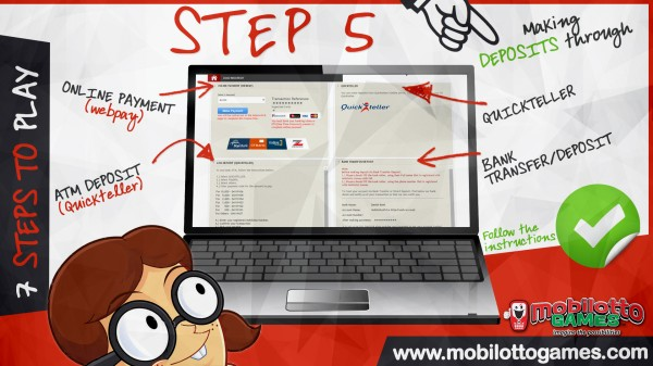MOBILOTTO GAMES HOW TO Step 5